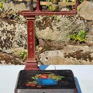 Lot#97 Antique Howe #5085 Balance Scale