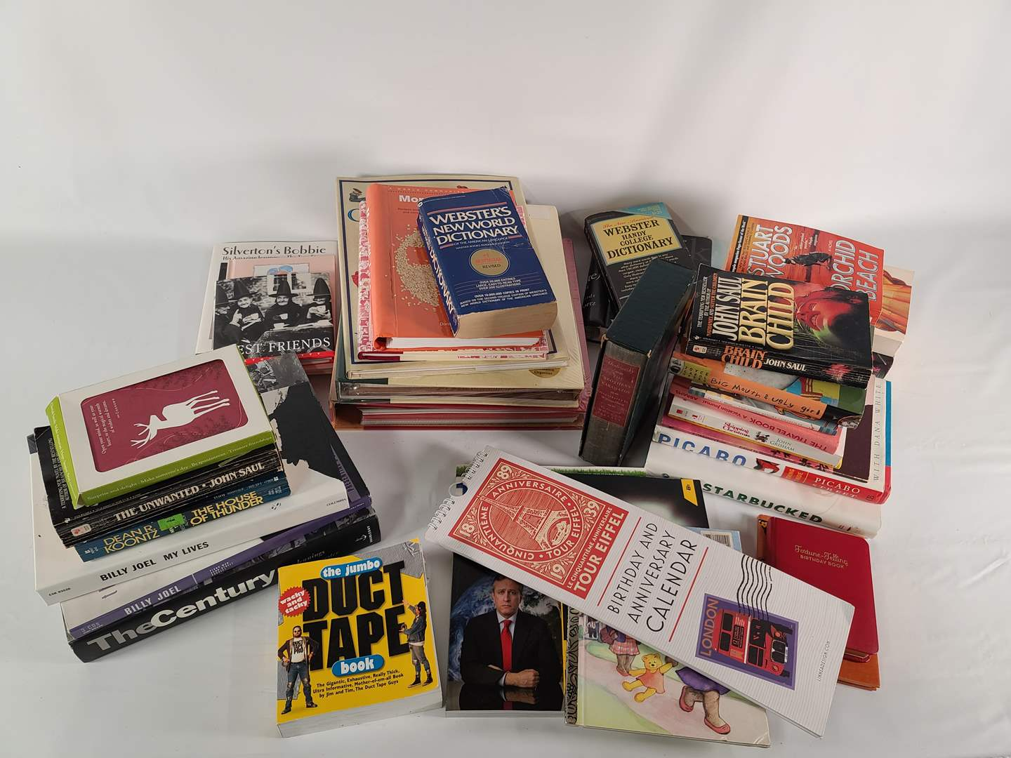Lot#140 Assorted Book Lot (main image)