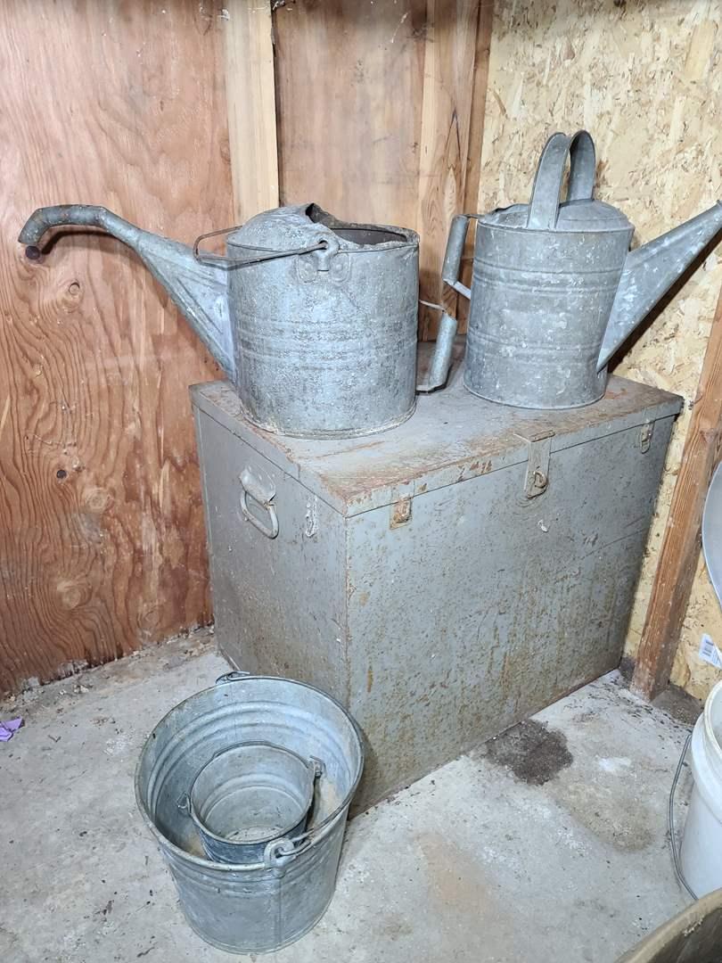 Lot#198 Box & Buckets (main image)
