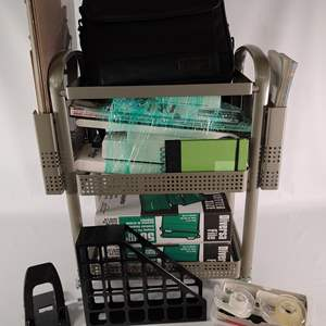 Lot#142 Assorted Office Supplies