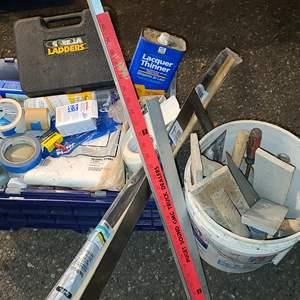 Lot#206 Painting & Home Repair Supplies