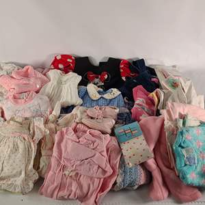 Lot#146 Assorted Baby Girls Clothing