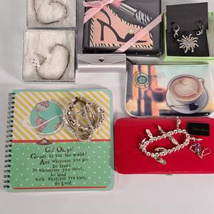 Lot#153 Assorted Fashion Jewelry & Cookie Lee Wallet