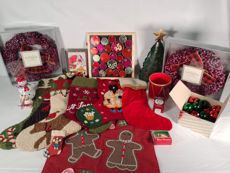 Lot#169 Xmas Stockings & More (main image)