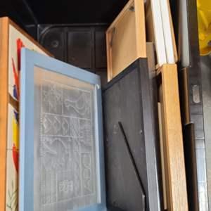 Lot#173 Assorted Frames & More