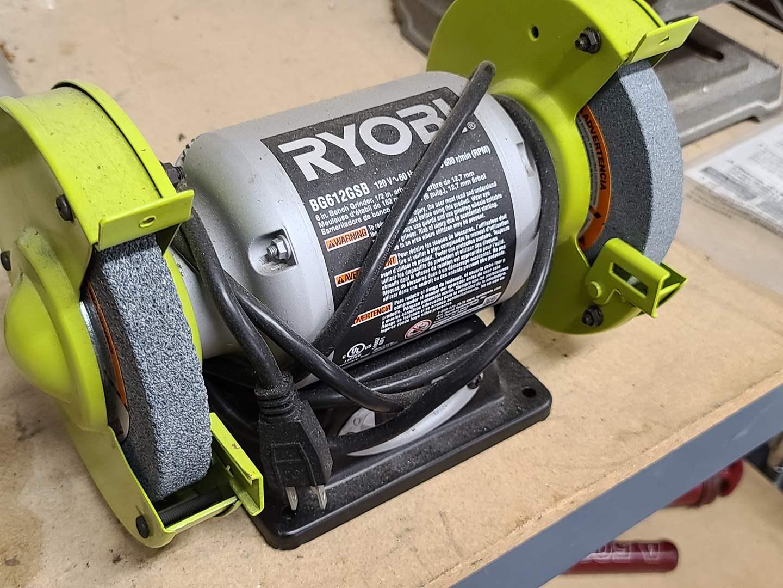 Lot#214 Ryobi Bench Grinder (main image)