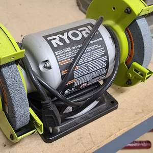 Lot#214 Ryobi Bench Grinder