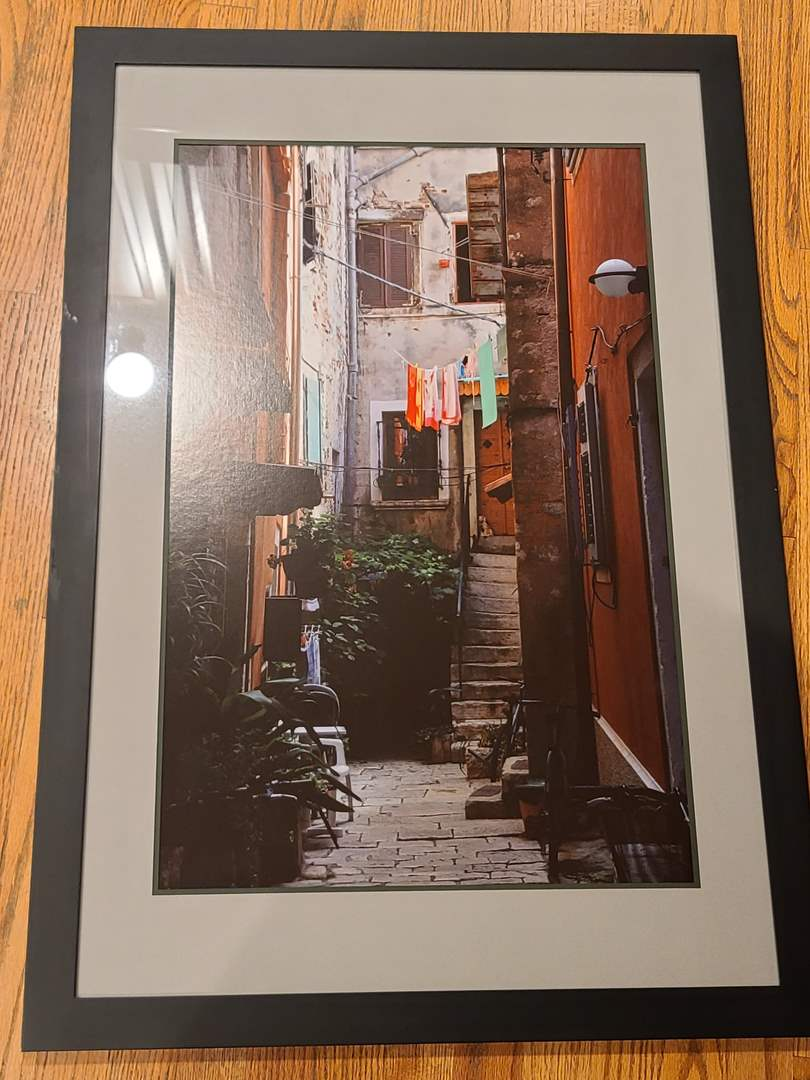 Lot#226 Beautiful Framed Croatia Photo (main image)