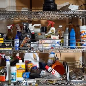 Lot#217 Top Shelves Auto & Home Supplies