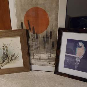 Lot#231 Assorted Art, Some Signed & Numbered