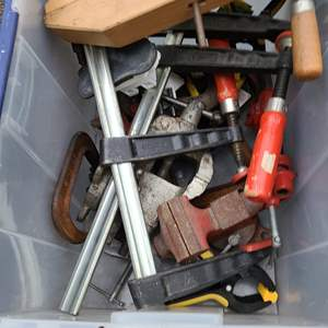Lot#223 Clamps, Vices & Much More