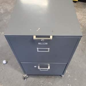 Lot#244 File Cabinet