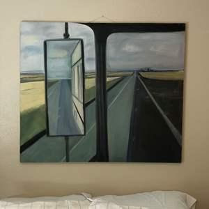 Lot # 29 - Large Original Canvas Artwork