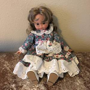 Lot # 34 - Cute Doll from Italy