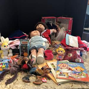 Lot # 211 - Cabbage Patch Dolls, Doll Clothes & More..