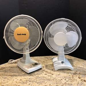 Lot # 222 - Two Working Fans
