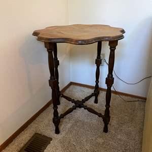 Lot # 2 - Vintage/Antique Wood Side Table