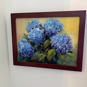 Lot # 9 - Original Oil on Canvas Signed by Local Artist Solveig Berg