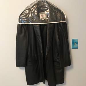 Lot # 39 - Men's Arbitro Vintage Leather Coat