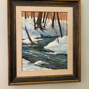 Lot # 24 - Original Oil on Canvas by Local Artist Solveig Berg
