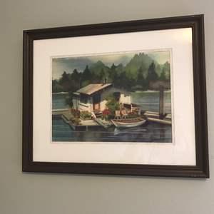 Lot # 46 - Original Water Color Signed K. Graves