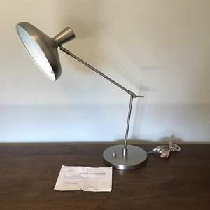 Lot # 53 - West Elm Pivot Arm Table Lamp - Works