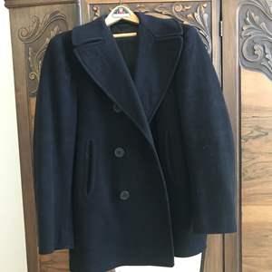 Lot # 58 - Vintage Navy Peacoat 100% Wool