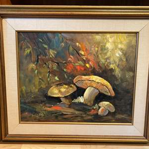 Lot # 87 - Original Oil on Canvas by Local Artist Solveig Berg