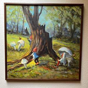 Lot # 89 - Original Oil on Canvas by Local Artist Solveig Berg