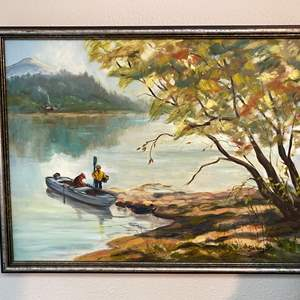Lot # 91 - Original Oil on Canvas by Local Artist Solveig Berg