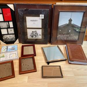 Lot # 98 - New & Used Picture Frames of Various Sizes