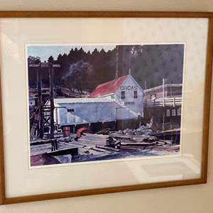 Lot # 99 - Orcas Island Watercolor by Local Artist Joan Reeves