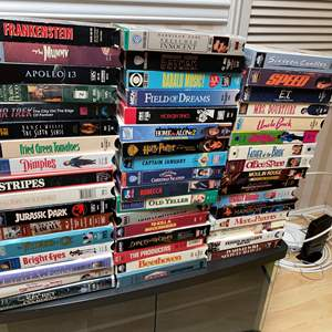 Lot # 108 - Collection of Vintage VHS Movies
