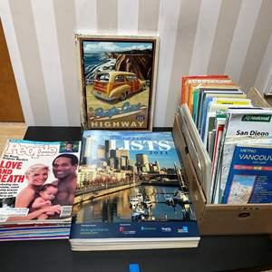 Lot # 111 - Vintage People Magazines, Maps & More