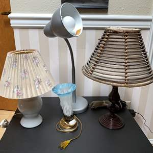 Lot # 140 - Misc. Table Lamps