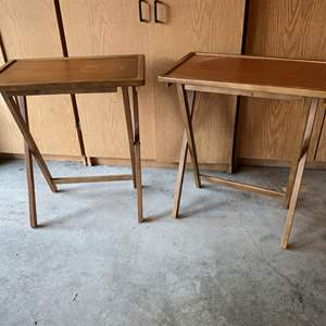 Lot # 177 - Two Vintage TV Trays