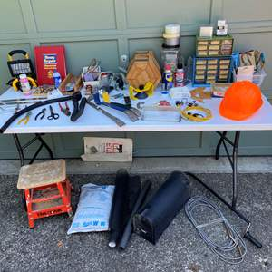 Lot #251 - Selection of Hand Tools & Hardware