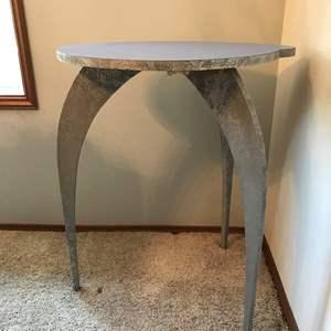 Lot #265 - Unique Wood Table