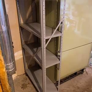 Lot #281 - Metal Shelving Unit