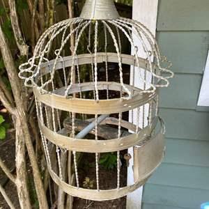Lot #325 - Vintage Bird Cage