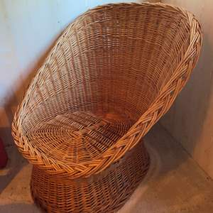 Lot #326 - Child Size Wicker Chair