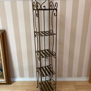 Lot # 102 - Small Metal Stand