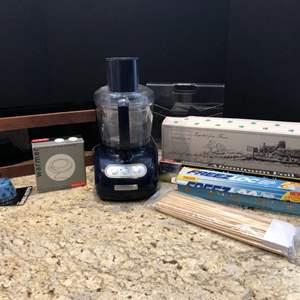 Lot # 202 - Kitchen Aid Blender, Spice Rack, Coffee Gobblets & Coffee Warmer
