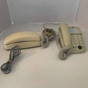 Lot #226 - GE Vintage Speaker Phone, AT&T Phone