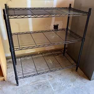 Lot # 246 - Heavy Duty Metal Storage Rack