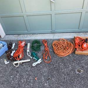 Lot #252 - Misc. Power Strips & Extension Cords