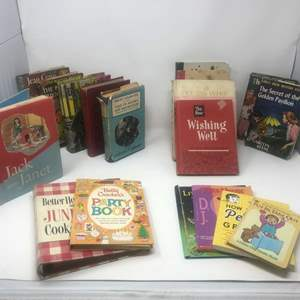 Lot #297 - Small Selection of Vintage Books
