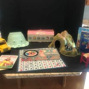 Lot #298 - Vintage My Little Pony Toys, Bingo Game, Books & More..