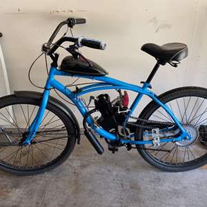 Lot #332 - Huffy Bicycle Converted to a Gas Powered Bike - (See Pictures & Video)