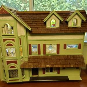 Lot # 8 Giant Doll House-New Photos